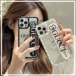 GG Glass Wristband iPhone Case