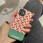 Luxury Designer BB Couple iPhone Case