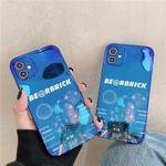 Blue Light bear iPhone Case