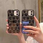 Fashion Double Color Of Love  iPhone Case