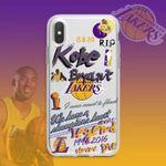 Basketball Graffiti Transparent iPhone Case