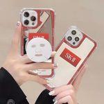 Fashion Cute Mirror Bracket iPhone Case