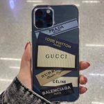 Fashion Diy Tag Transparent iPhone Case