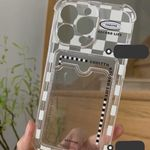 Transparent Check Card Cover iPhone Case