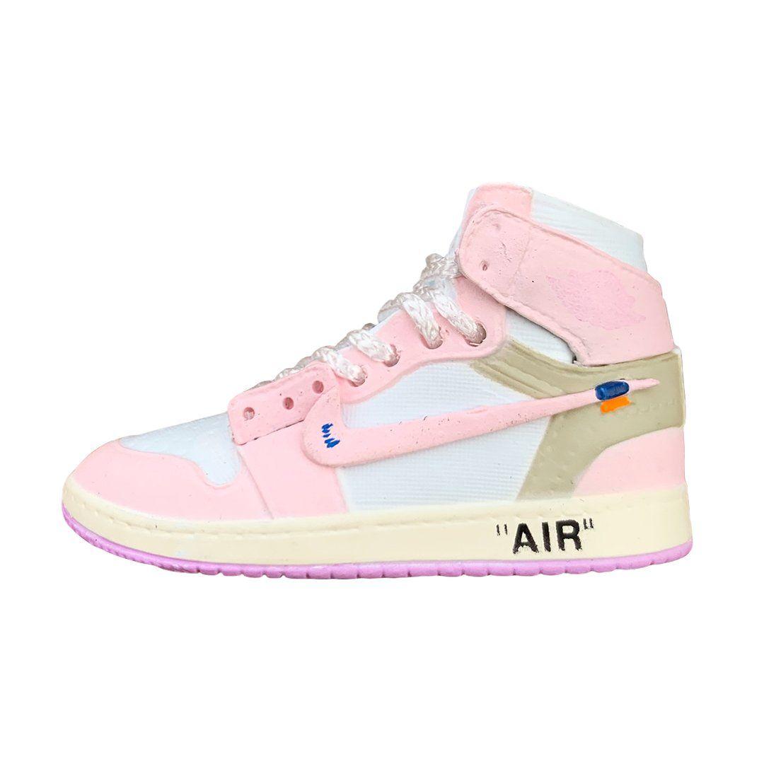 Off-White Jordan 1 Pink Mini Sneaker