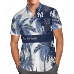 Yankees Summer Short Sleeve Hawaiian Beach Shirt