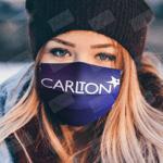 carlton face mask
