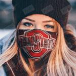 ohio state face mask