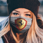 ferrari face mask