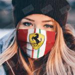 ferrari2 face mask