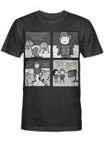 Ok Wolves Before You Eat Me There's Something You Should See Dwight Schrute T Shirt
