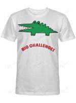 A SANRIO CROCODILE BIG CHALLENGES 2020 SHIRT