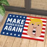 Trump Make Shoes Clean Again Doormat
