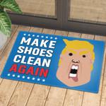 Trump Make Shoes Clean Again Ver 2 Doormat