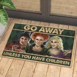 Hp Go Away Unless You Have Children Doormat