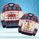 Couple Cookie Christmas Sweater