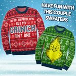Grinch Christmas Couple Sweater
