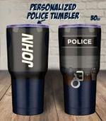 Police Personalized 30oz Tumbler