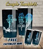 Couple Anchor Wings Personalized 30oz Tumbler