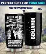 Mother And Son Personalized 30oz Tumbler