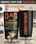 Dad & Daughter Personalized 30oz Tumbler