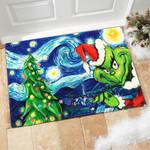 Grinch Vangoh Doormat