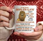 Best Son-in-Law Mug - Son in law Coffee Mugs - Funny Son-In-Law Gift - Unique Family Gag Gift - Birthday Christmas Novelty Present Ideas Cup Ceramic 11oz
