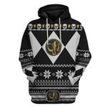 Black Power Ranger Custom Ugly Sweater T-shirt Hoodie Apparel