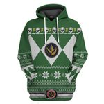 Green Power Ranger Custom Ugly Sweater T-shirt Hoodie Apparel