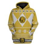 Yellow Power Ranger Custom Ugly Sweater T-shirt Hoodie Apparel