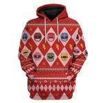 Power Rangers Custom Ugly Sweater T-shirt Hoodie Apparel