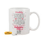 Personalized Limited Edition Mug For Daddy Valentine Gift