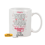 Personalized Limited Edition Mug For Mom Valentine Gift