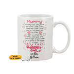 Personalized Limited Edition Mug For Mummy Valentine Gift