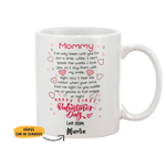 Personalized Limited Edition Mug For Mommy Valentine Gift
