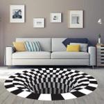 3D Vortex Illusion Mat_H