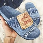 HOT TREND Demin Sandals_N