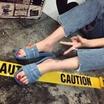 FASHIONABLE DENIM SLIDES_V