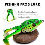 [Best Seller]_Double Propeller Frog Soft Bait