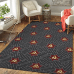 Viking Area Rug - Horns of Odin and Valknut