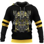 Viking Hoodie 3D - JORMUNGAND – Son of Loki and Angrboda