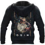 Viking Hoodie 3D - Fenrir - Odin