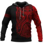 Viking Hoodie 3D - Odin Art - Bear Vegvisir