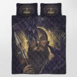 Viking Gear : Viking Quilt Bedding Set - Raven & Spear