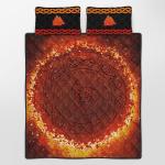 Viking Gear : Viking Quilt Bedding Set - Vegvisir Valknut