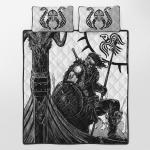 Viking Gear : Viking Quilt Bedding Set - Viking Warrior