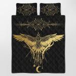 Viking Gear : Viking Quilt Bedding Set - Raven
