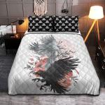 Viking Gear : Viking Quilt Bedding Set - Hugin And Munin