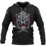 Viking Gear -  Wolf Of Odin -  Viking Hoodie 3D