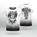 Viking Gear : Odin Raven Valknut - Hammer - Viking Shirt 3D